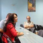 zebranie rodziców uczniów wyjeżdżających na praktyki zagraniczne do Portsmouth iDrezna 1