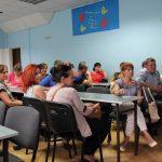 zebranie rodziców uczniów wyjeżdżających na praktyki zagraniczne do Portsmouth iDrezna 2