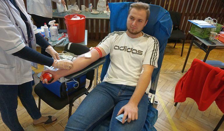 Akcja Honorowego Krwiodawstwa w ZSEn