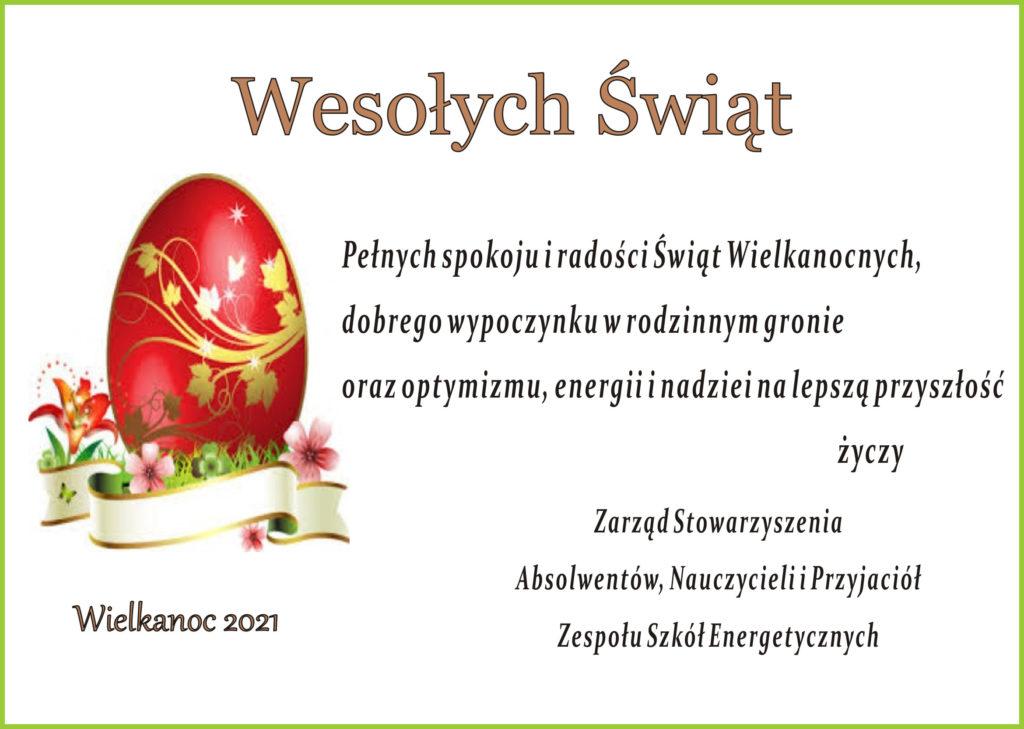 Kartka z życzeniami światecznymi od Zarządu Stowarzyszenia